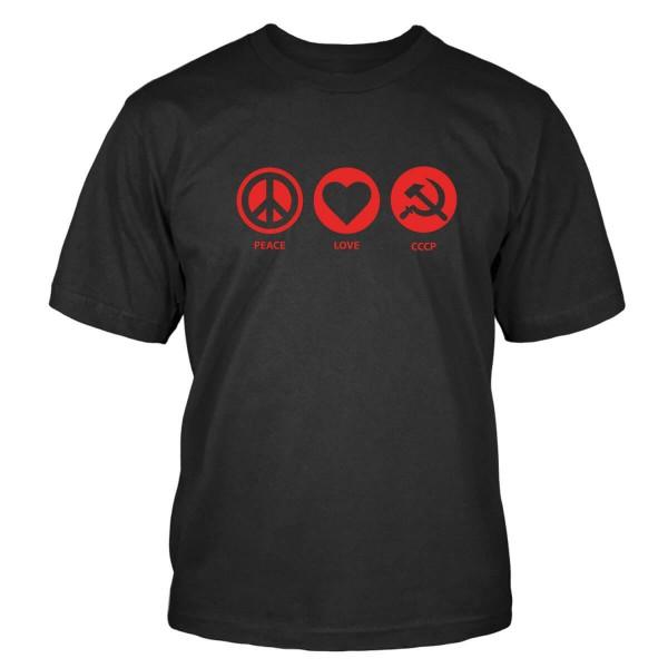 Peace Love CCCP T-Shirt