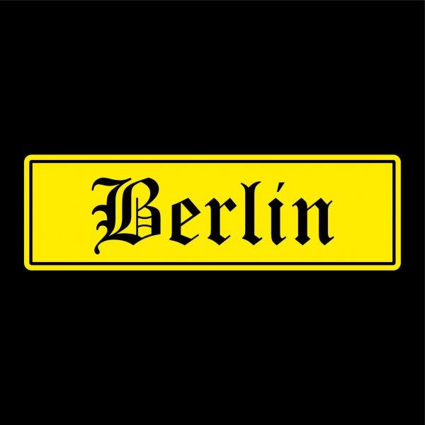 Berlin Städte Auto Aufkleber Sticker 5cm x 17cm