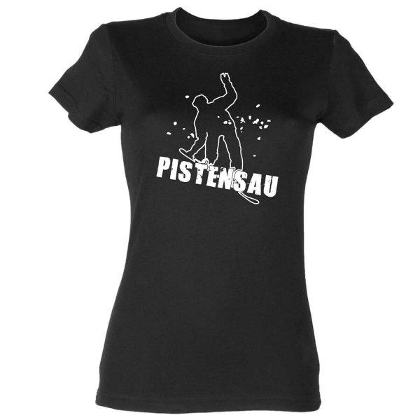 Pistensau Damen T-Shirt