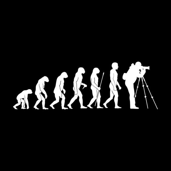 Fotograf Evolution Aufkleber Sticker 31 x 10 cm
