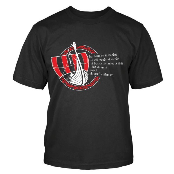 Drakkar Wikinger Schiff T-Shirt