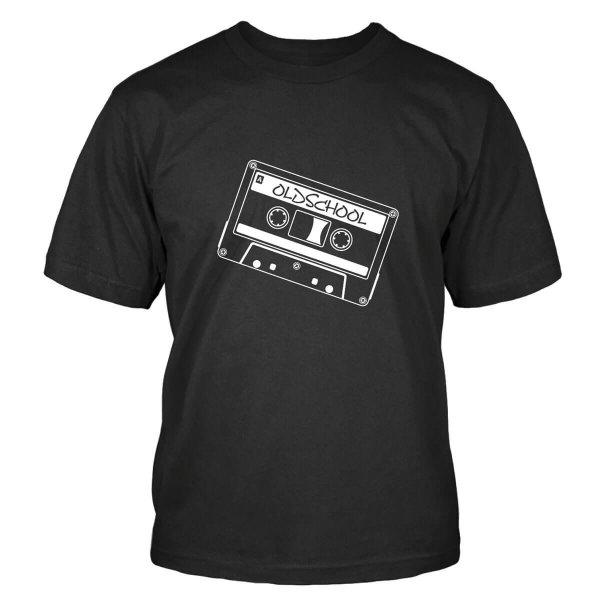 Oldschool Kassette T-Shirt