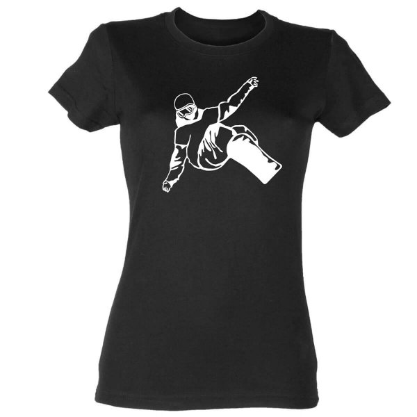 Snowboard Damen T-Shirt