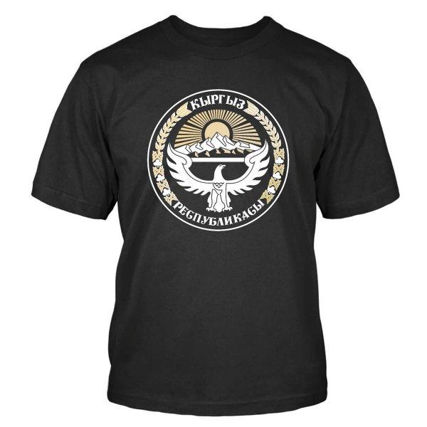 Kyrgyzstan Wappen T-Shirt