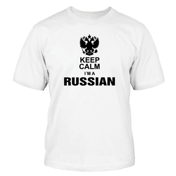Keep Calm I´m a Russian T-Shirt