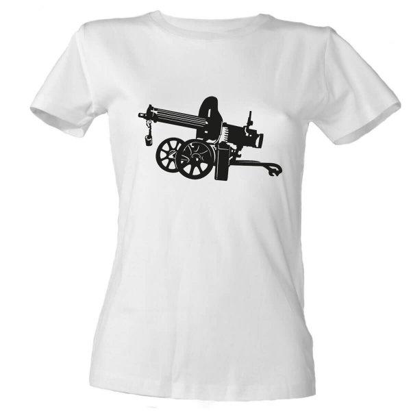 Maschinengewehr Maxim Damen T-Shirt