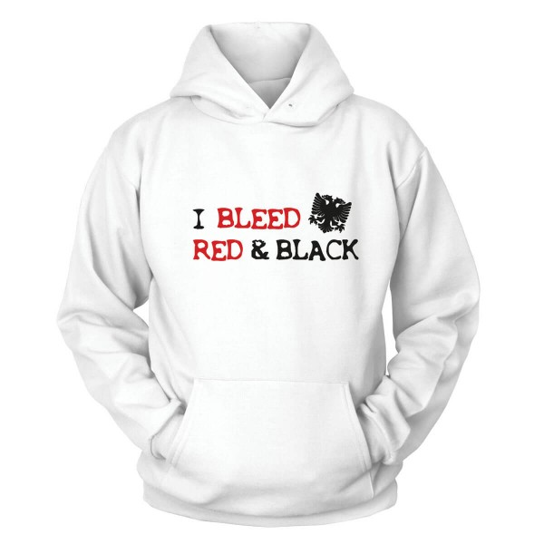 I Bleed Red & Black Kapuzenpullover