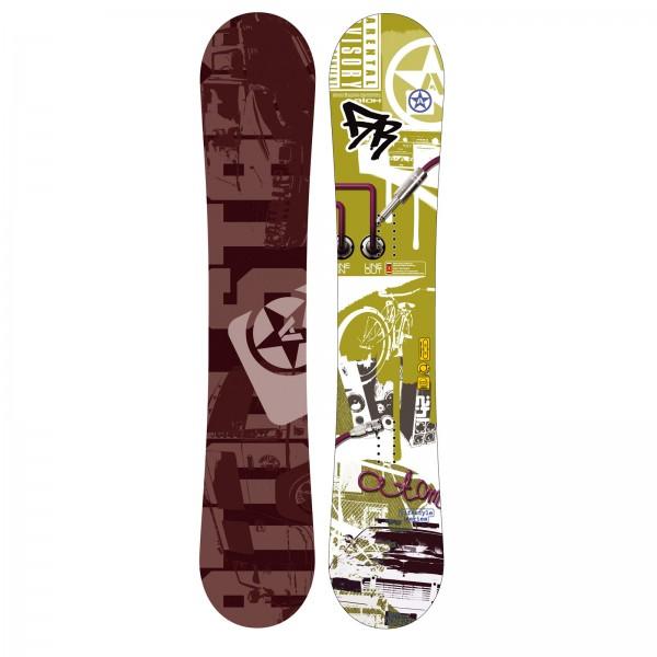 Freestyle Snowboard Atom Freestyle Hip-Hop Unisex Jibb Pipe Carbon Sandwich