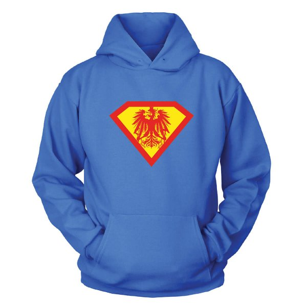 Superman Österreich Kapuzenpullover