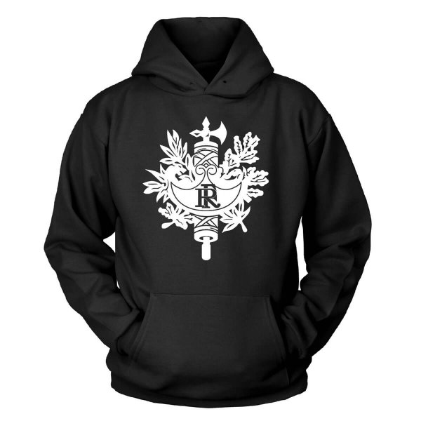Frankreich Wappen Kapuzenpullover