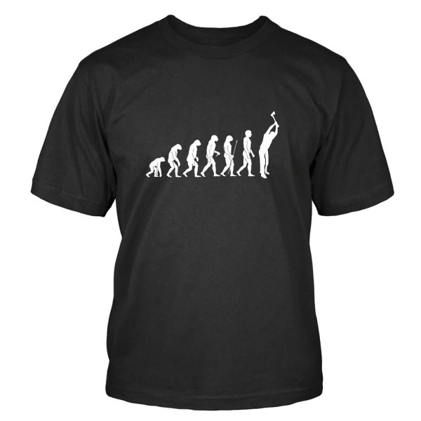 Holzfäller Evolution T-Shirt